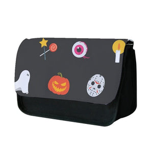 Halloween Mask Pattern Pencil Case