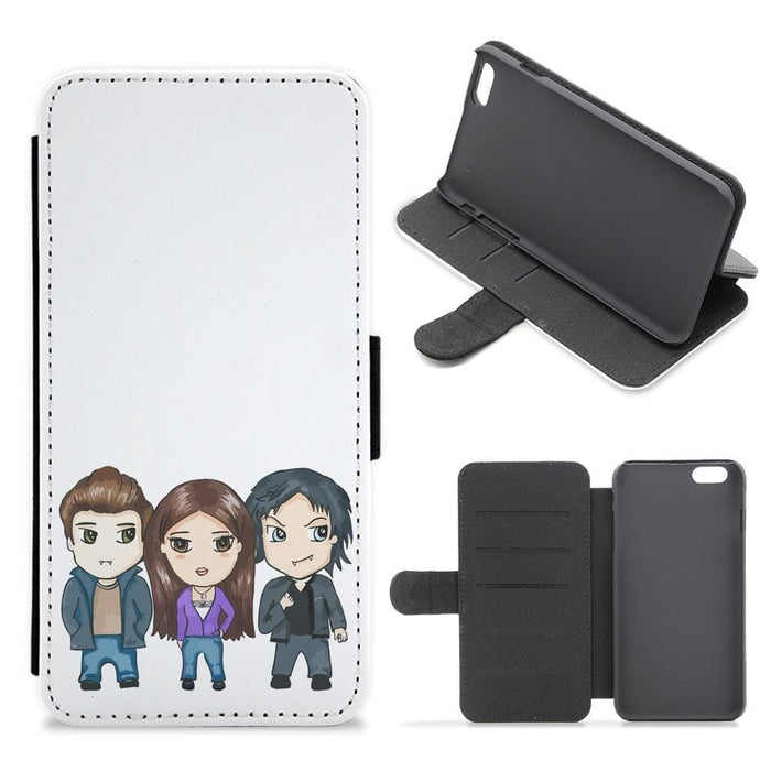 Vampire Diaries Cartoon Flip / Wallet Phone Case - Fun Cases
