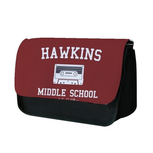 Hawkins Middle School - Stranger Things Pencil Case - Fun Cases