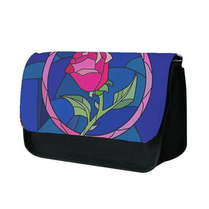 Glass Rose - Beauty and the Beast Pencil Case - Fun Cases