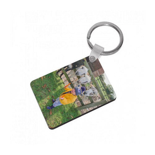 Custom Photo Keyring