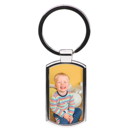Custom Photo Luxury Keyring