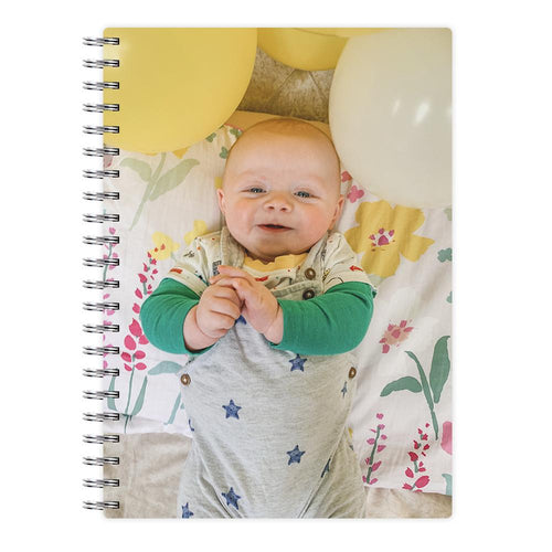 Custom Photo Notebook