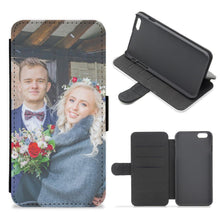 Custom Photo Flip Wallet Phone Case