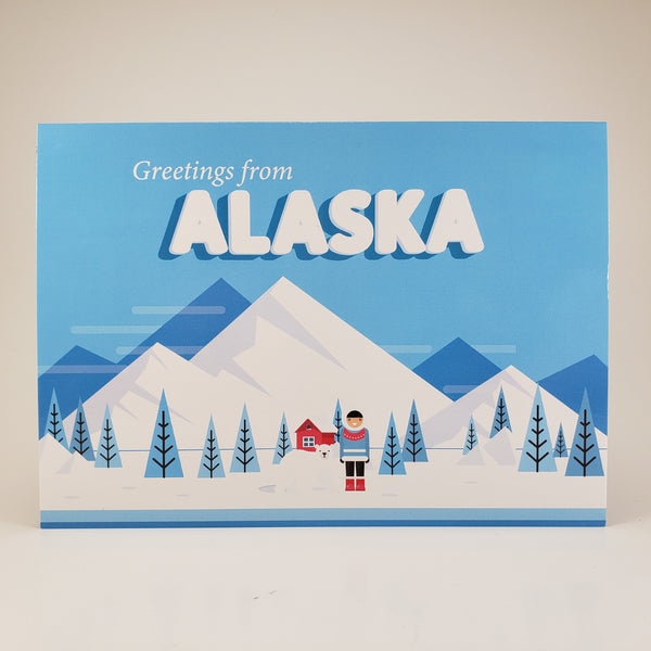 Retro Greetings from Alaska