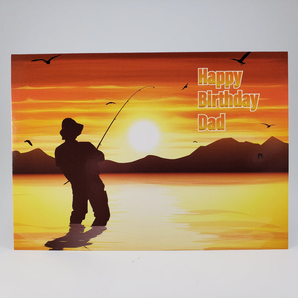 Fishing Dad Birthday Card
