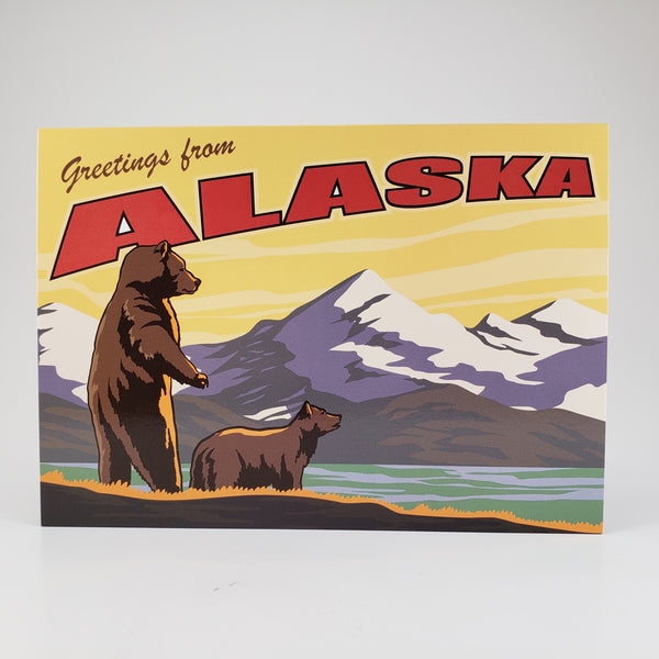 Greetings from Alaska Grizzly
