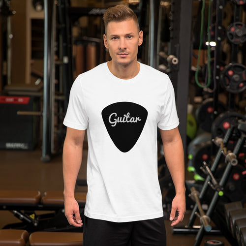 Guitar PIck Short-Sleeve Unisex T-Shirt