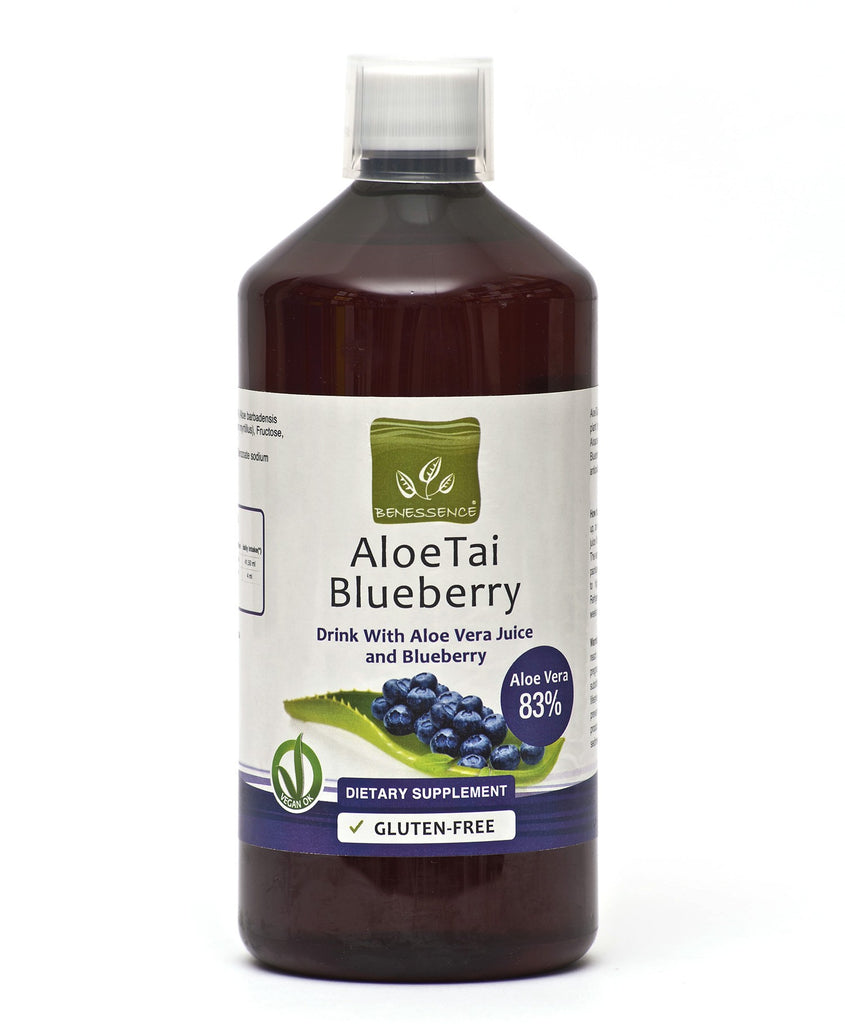Aloe Vera Juice with Blueberries