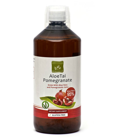 Aloe Vera Juice with Pomegranates