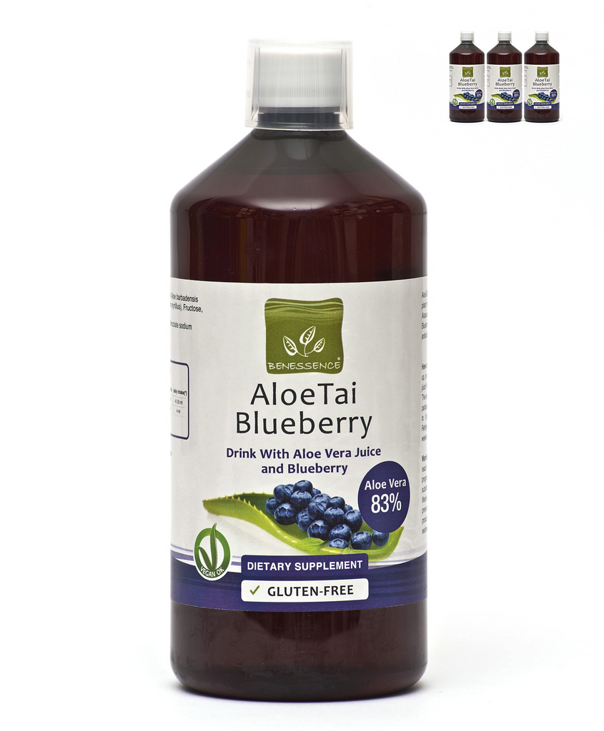 Aloe Vera Juice with Blueberries (Pack of 3)