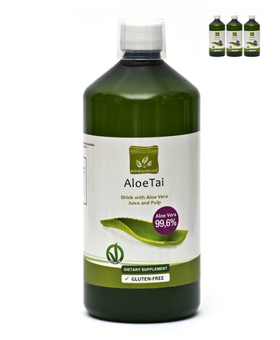 Pure Aloe Vera Juice (Pack of 3)