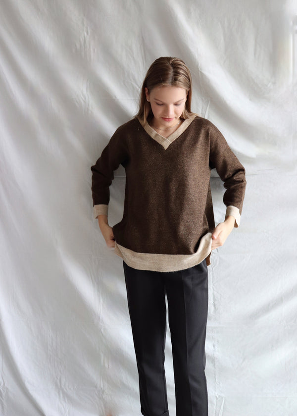 Jessy Brown Knit