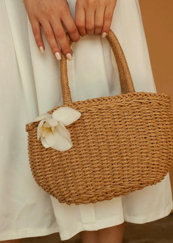 Sardegna basket bag