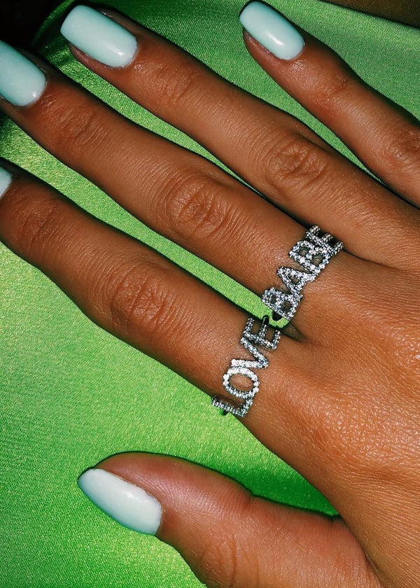 Babe Silver Ring