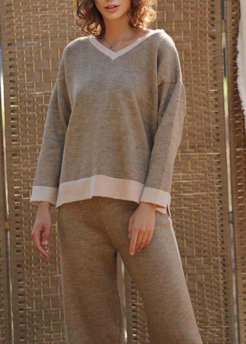 Tana Co-Ord Knit Trousers