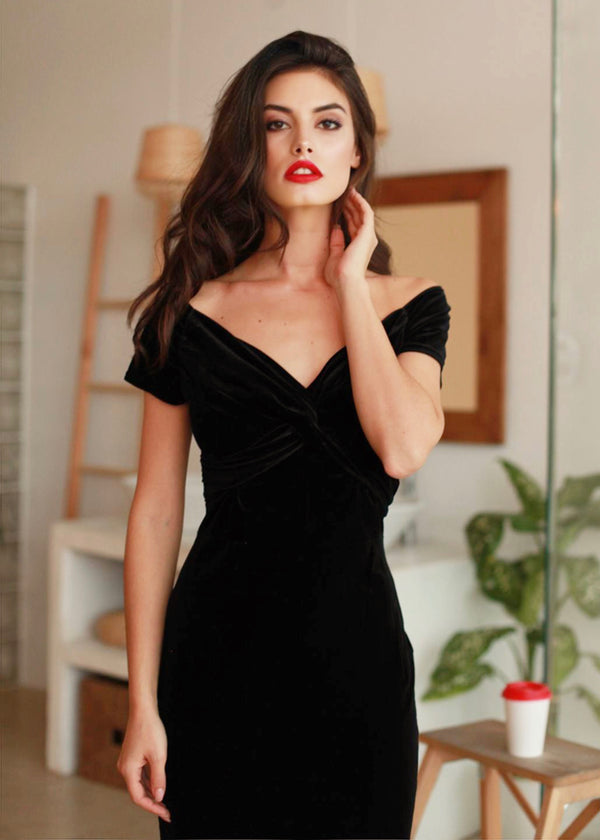 Juliana Velvet Dress