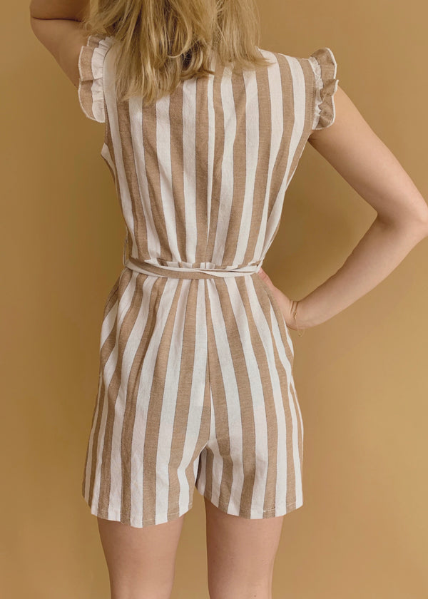 Maui Beige Playsuit