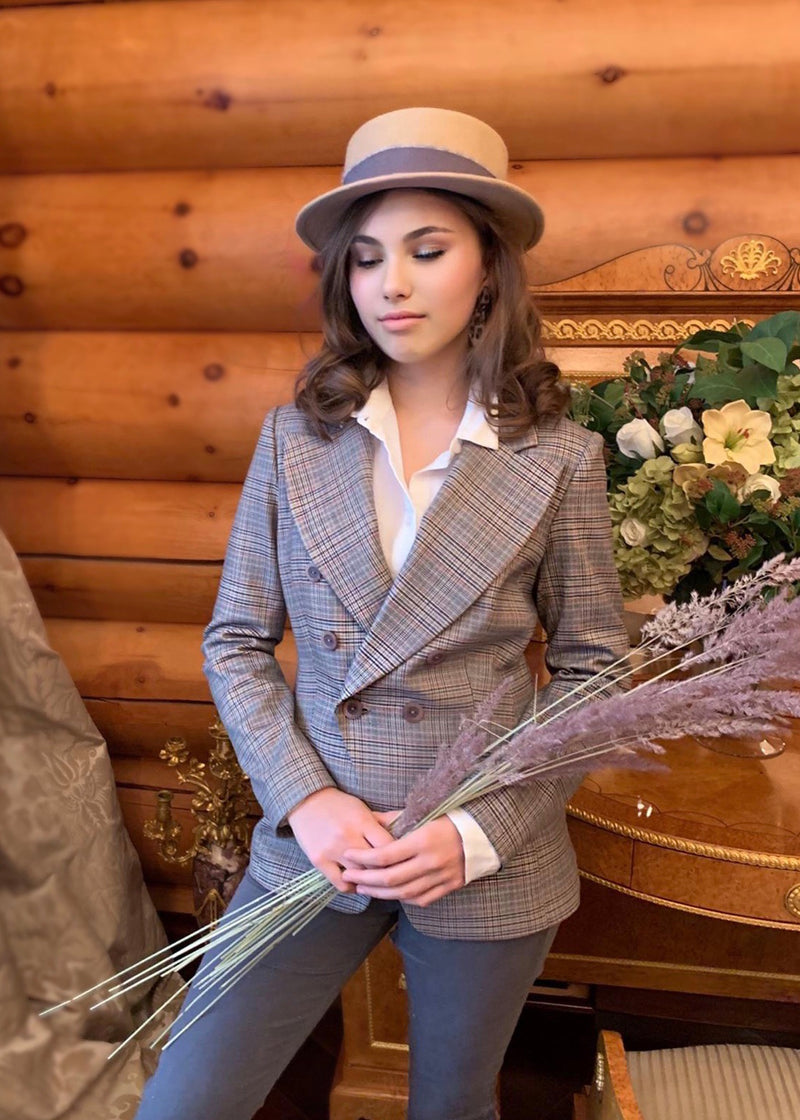 Equestrian Double-breasted Blazer