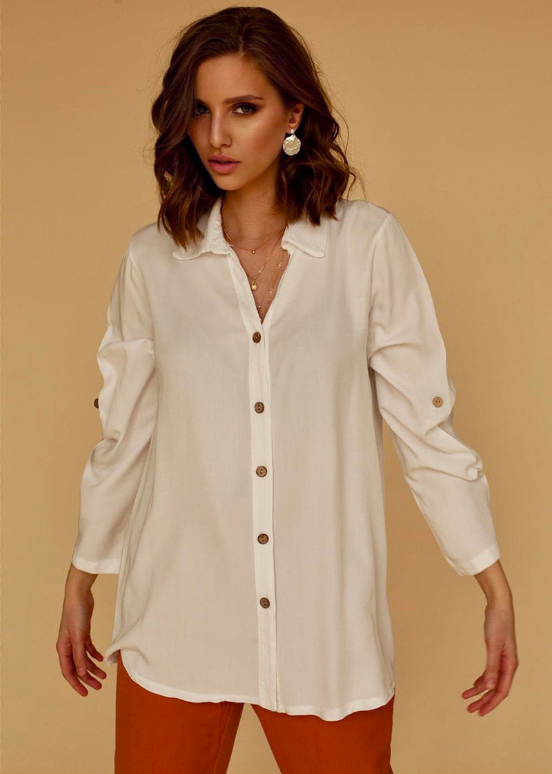 Berta Shirt in White