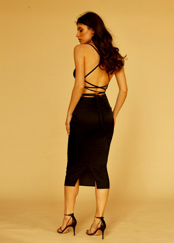 Venus Dress in Black