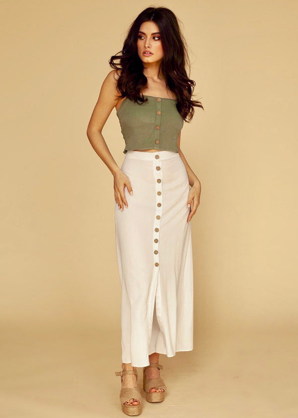 Berta Skirt in White