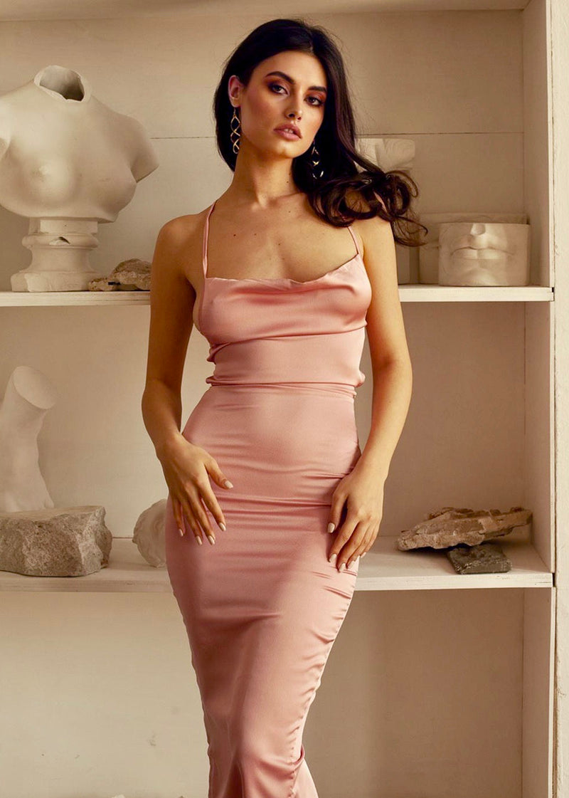 Venus Dress in Blush