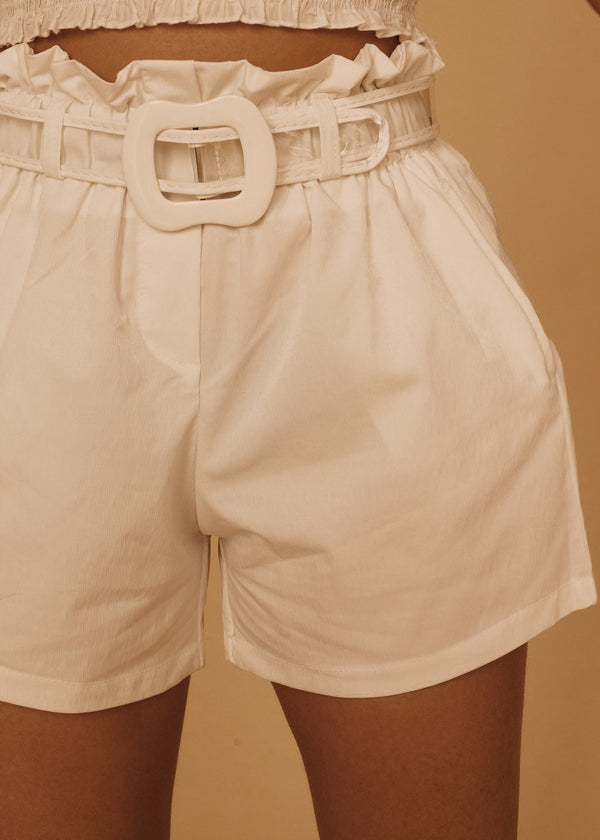 Dandy Shorts in White
