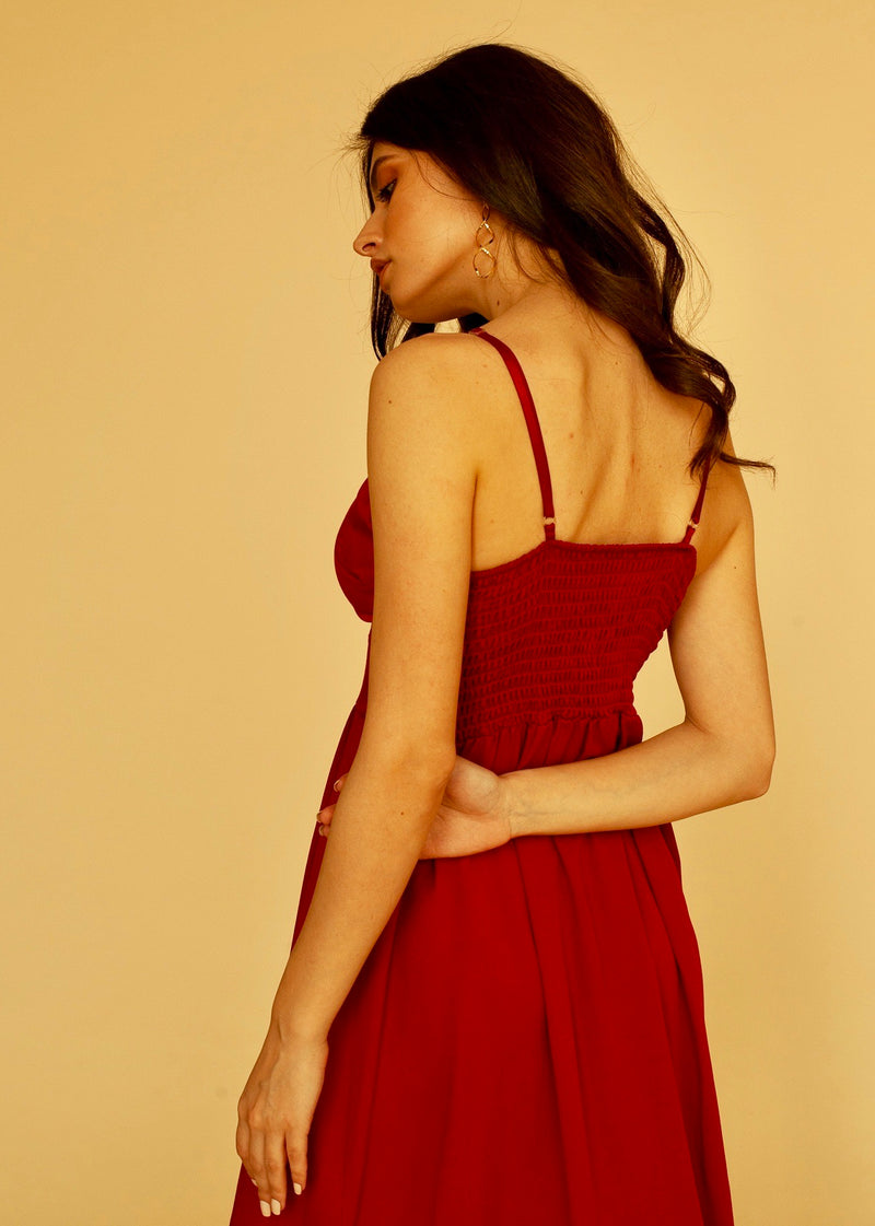 Sunday Dress in Red
