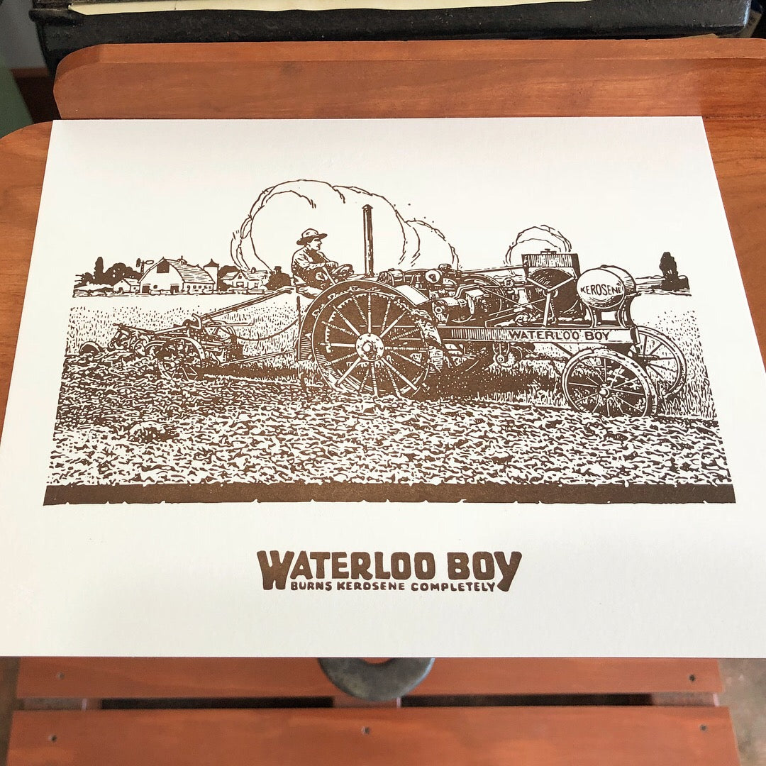 Waterloo Boy Scene Print