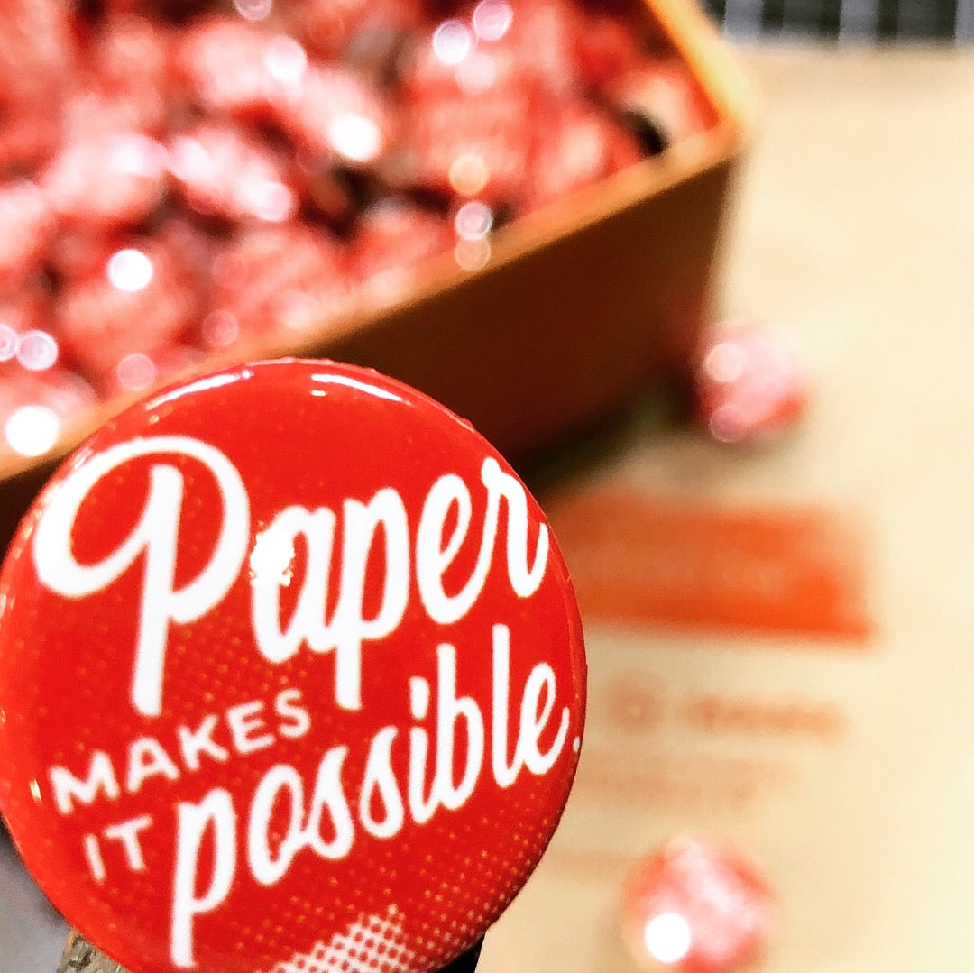 Paper Makes it Possible Button