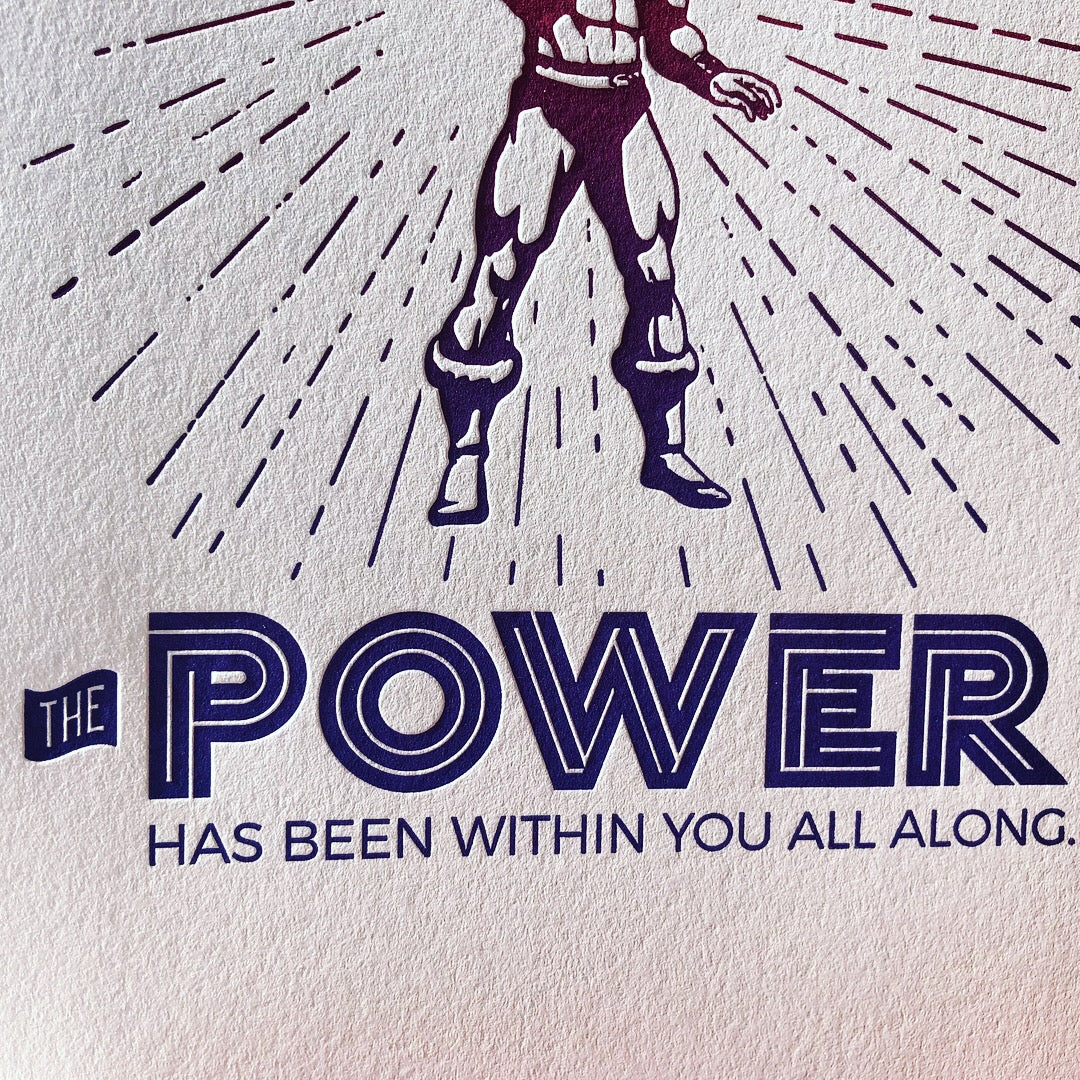 The Power Within Print