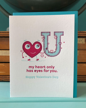My Heart Only Has Eyes for You Greeting Card