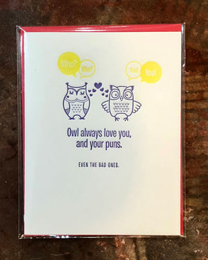 Owl always love you. Greeting Card