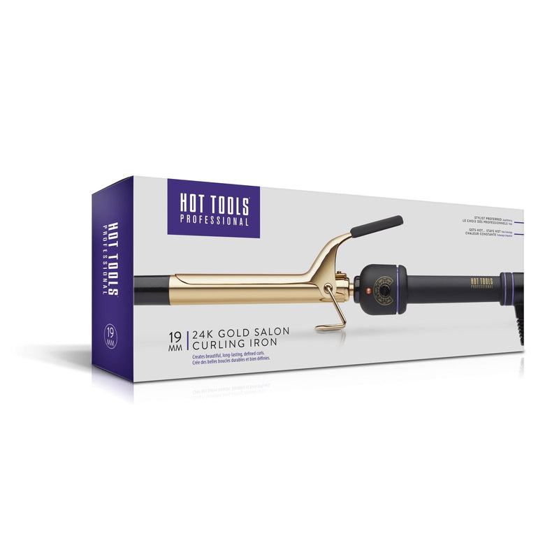 Hot Tools 24k Gold Curling Iron 19mm - Hot Tools Australia