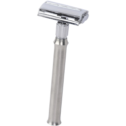 Luxrite Butterfly Head Safety Razor Long Stainless Steel Handle