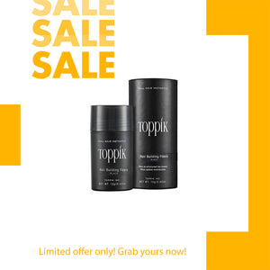 TOPPIK HAIR FIBERS (BUY 1 TAKE 1)