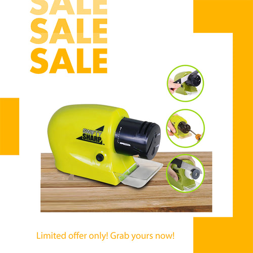 ELECTRIC KNIFE SHARPENER ( BUY 1 TAKE 1 )