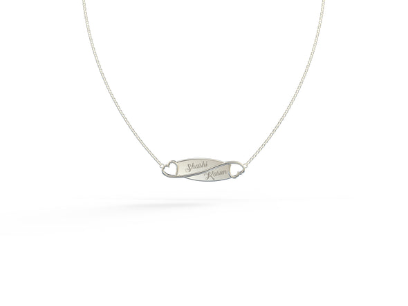 Amaya Forever Love Engravable Necklace