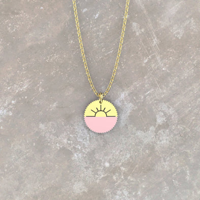 Rosie As the Sun Sets Necklace