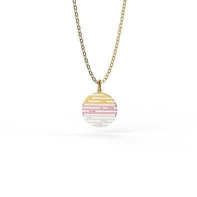 Leah Zig Zag Party Necklace