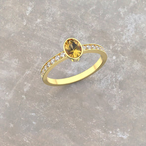 Katie Golden Dreams Ring
