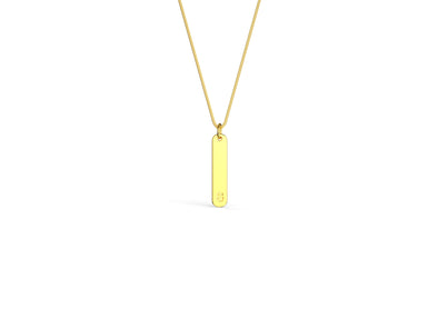 Henry Drop Bar Necklace