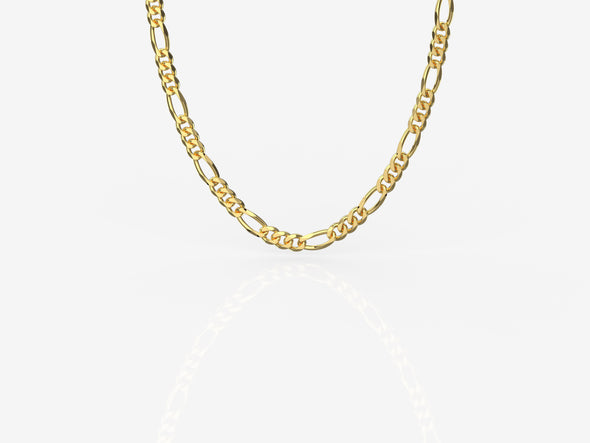 Lara Chain - Gold Plated (4mm thickness)