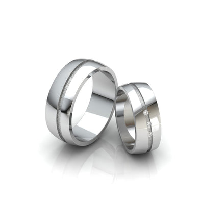 The Darling Duo Double Ring