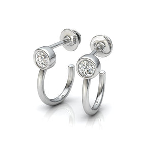 The Alice Hook Zircon Earing