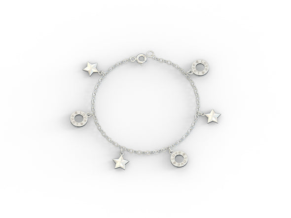 Emma Starry Love Charms Bracelet