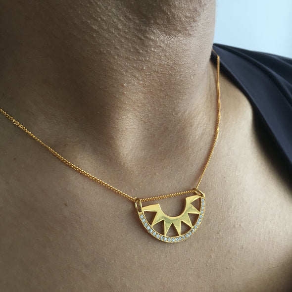 Summer It's a Sunny Affair Necklace