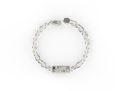Logan Lock it In Engravable Bracelet