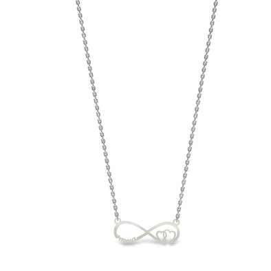 The Anit Infinity Necklace